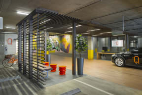 Concierge and Electric Car Service at the Q Variel - Luxurious Apartment Living in Woodland Hills