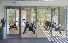 Spin Studio at the Q Variel in Woodland Hills
