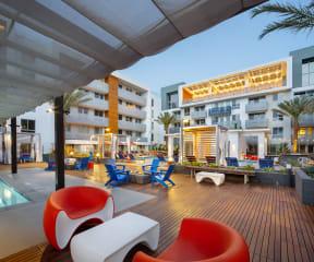 cabanan view luxury apartments The Q Variel Woodland Hills CA