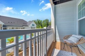 Private balcony or patio at Alta Croft, Charlotte, 28269
