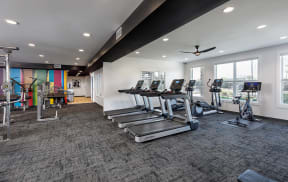 BRAND NEW Fitness Center with Peloton® Bike