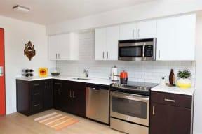 Burnside 26 in Portland, OR one bedroom kitchen