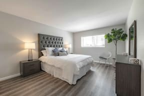 One Bedroom Apartments in San Clemente CA - Rancho Del Mar Bedroom with Natural Lighting