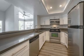 Apartments for Rent in San Clemente CA - Rancho Del Mar Kitchen with Matching Appliances