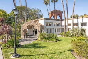 San Clemente, CA Apartments - Exterior View of Rancho Del Mar Apartments Building Surrounded By Lush Landscaping