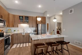 Modern Kitchen - Nuvelo at Parkside Apartments
