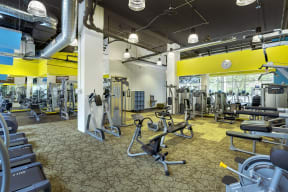 Kellogg Square Apartments in St. Paul, MN Deluxe Fitness Center