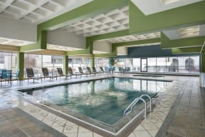 Kellogg Square Apartments in St. Paul, MN Indoor Pool Whirpool