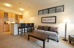 Mears Park Place Apartments in Saint Paul, MN Living Area