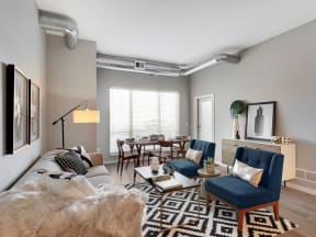 Interior View - Nuvelo at Parkside Apartments