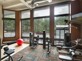 Lowertown Lofts Apartments in St. Paul, MN Fitness Center