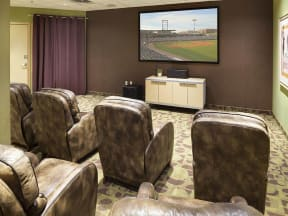 Lowertown Lofts Apartments in St. Paul, MN Movie Theater