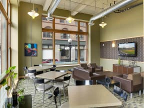 Lowertown Lofts Apartments in St. Paul, MN Community Room