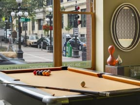 Lowertown Lofts Apartments in St. Paul, MN Billiards
