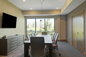Conference Room at Nuvelo at Parkside Apartments