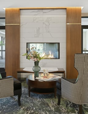 Nuvelo at Parkside Lobby & Fireplace