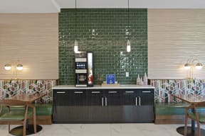 Coffee Bar at Nuvelo at Parkside Apartments