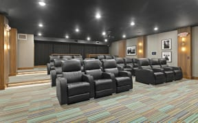 Nuvelo at Parkside Apartments Theater Room