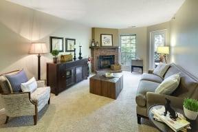 Regency Woods Apartments in Minnetonka, MN Living Room