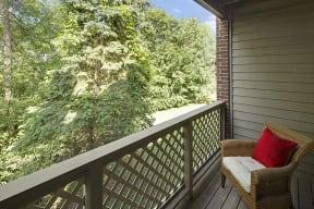 Regency Woods Apartments in Minnetonka, MN Private Balcony