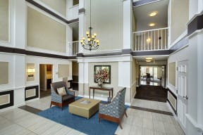 The Riverwood Apartments in Lilydale, MN Lobby