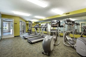 The Riverwood Apartments in Lilydale, MN Fitness Center