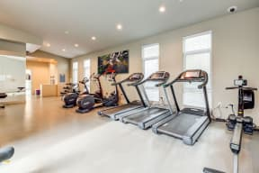 Gym with Treadmills Apartments in San Mateo| Mode Apartments