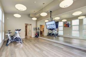 Yoga Room Apartments in San Mateo| Mode Apartments