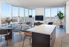 Resident Lounge at North+Vine, Chicago, 60610