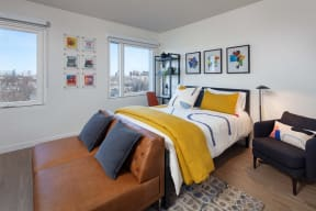 Gorgeous Bedroom at North+Vine, Illinois