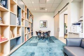 Reading Room at North+Vine, Chicago, Illinois