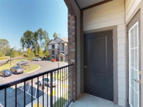Private Patio And Balcony at One White Oak, Cumming, GA