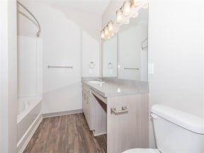 Custom Look Bathroom at One White Oak, Georgia