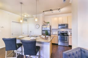 Wood Style Floors at Aventura at Forest Park, St. Louis