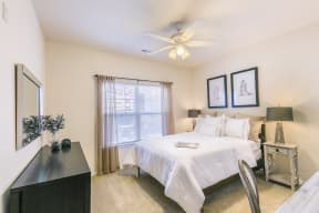 Large Windows with Beautiful Window Coverings at Aventura at Forest Park, St. Louis, MO