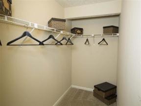 One Bedroom Walk-in Closet
