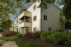 West Woods Apartments Exterior