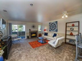 Palomino 2x2 Living room fireplace