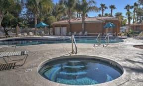 Year-Round Hot Tub at The Colony Apartments, AZ, 85122