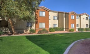 Beautiful Landscaping and Park-like Setting at The Colony Apartments, Casa Grande, 85122