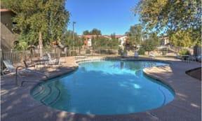 Resort-Style Poolat The Colony Apartments, Casa Grande, AZ