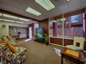 Newly Renovated Clubhouse at Fountain Plaza Apartments, Tucson, AZ