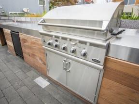 BBQ Area Rent Apartments in San Mateo, CA - Mode Apartments BBQ Area