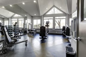 State-of-the-Art Fitness Center at Arborview at Riverside and Liriope, Maryland, 21017
