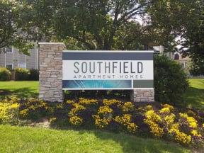Southfield sign