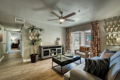 interior view of new modern apartments in tempe arizona