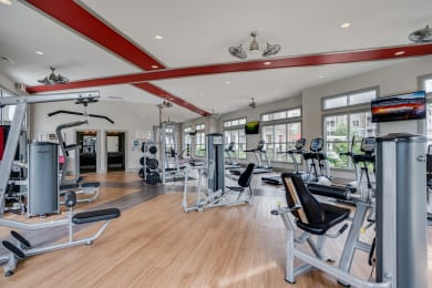 2,000 Square Foot Fitness Center