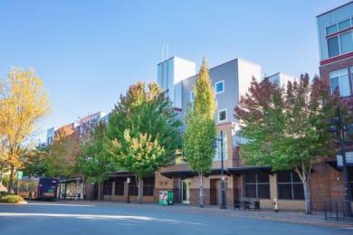 Elegant Exterior View at Metropolitan PlaceApartments, Renton, Washington