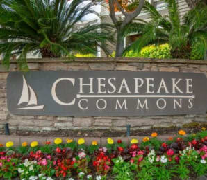 Welcoming Property Signage at Chesapeake Commons Apartments, California, 95670