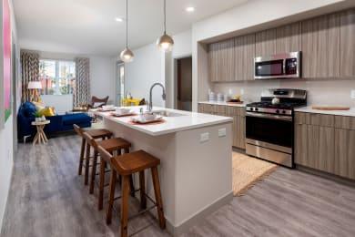 Gourmet Kitchen With Island at Las Positas Apartments , Camarillo, CA